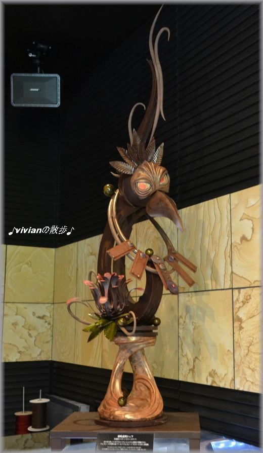 チョコレートのオブジェ.JPG